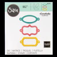 Sizzix® Bigz™ Die - Ornamental Bookplates-025769