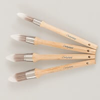 Set of 4 ClarityStamp Stencil Brushes-026190