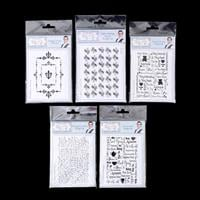 Sentimentally Yours Set of 5 Stamps - Special Delivery, Tea & Cof-026192