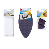 Prym Sewing Accessory Bundle   Includes Finger Guards  Iron Rest -027768