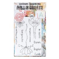 AALL & Create Stamp Set - Blossomed Dreams - 10 Stamps-029640