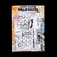 AALL & Create A4 Stamp - Vintage Grafitti-032036