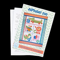 Oh Sew Sweet Shop Alphabet Zoo Pattern 52