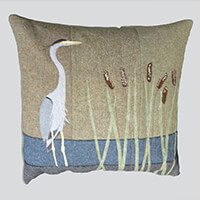Quilting Antics Ribble Stalker Tweed Cushion Kit - 18