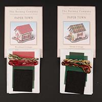 Nutmeg Woodland and Tartan Cottage Cross Stitch Kits-035179