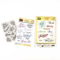 JustRite® Stamp Sets - Wedding Wishes & Grand Thank You - 23 Stam-035909