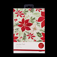 Kaisercraft 20 Page A5 Peace & Joy Sticker Pad - Over 800 Sticker-036060