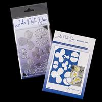 John Next Door Orchid Die and Stamp Collection - 9 Stamp Images-036798