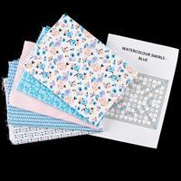 Fabric Freedom Watercolour Swirl Quilt Kit - 100% Cotton-036887