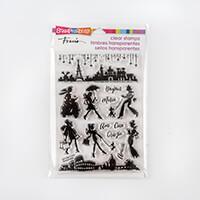 Stampendous Stamp Set -  Sassy Travel-037109