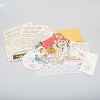 Simply Vintage Mixed Craft Inspiration Pack - Minimum 30 Elements-039258