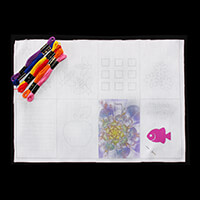 Craft Yourself Silly Stitch-onary Woven Stitch Pack - Template wi-041562