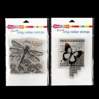 Stampendous Dragonfly Wings and Butterfly Pattern Stamp Sets - 2 -042053