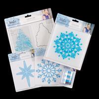 Sara Signature Winter Wonderland - Dies, Stamp, Embossing Folder -042355