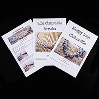 Dizzy Di Chainmaille Bracelets Instructions Only  - Izzy, Ellie a-042776