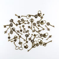Craft Buddy Metal Charm Embellishments-044507
