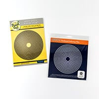 Clarity Fresh Cut Circles Picot Die Set with Matching Groovi Plat-044793