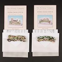 Nutmeg Pack of 2 Cross Stitch Card Kits-044855