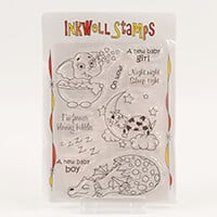 Inkwell For Babies and Toddlers Stamp Collection  -  Includes 9 S-044993