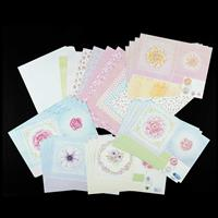 Angela Poole Buds to Blooms A4 Cut & Craft Card Pack - Makes 20 C-045025