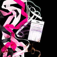 Multi Bow Maker Pack with 10 x 1 Metre Ribbon & Organza - Assorte-045239