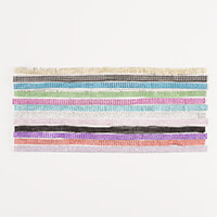 Glitter Greetings 12 Strips of Bling Approx 1 Metre Each 12 Colou-046796