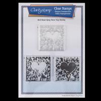 Claritystamp A4 Stamp Set - Bird Heart Sprig - 3 Stamps-046867