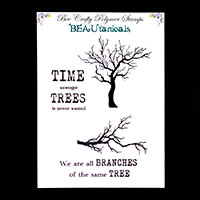 Bee Crafty BEAUtanicals Stamp Set - Skeleton Tree & Branch - 4 St-048337