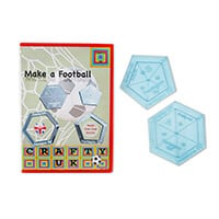Crafty UK Make a Football Template-048840