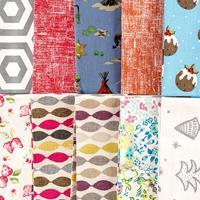 The Millshop Online Ultimate Fabric Bundle - 10 x 100% Heavyweigh-049207