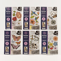 Threaders A5 Rubber Stamp Full Collection-049496