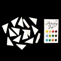 Artistry Ink Set of 12 Mini Ink Pads with Storage and Free Spot O-051022