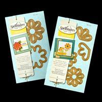 Spellbinders Die D-Lites 2 x Die Sets - Pretty Petals A & B - 6 D-053947