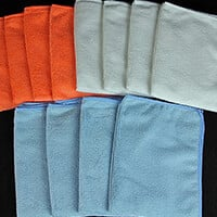 Ultimate Finish 12 x Assorted Ultimate Microfibre Cloths-054098