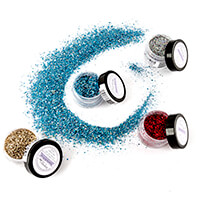 Stamps by Chloe Set of 4 14.7g Sparkelicious Glitters - Christmas-055282
