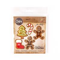 Sizzix® Thinlits™ Set of 18 Dies - Fresh Baked #2 by Tim Holtz®-055493