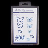 John Next Door Small Butterflies Die Set - 9 Dies-055521