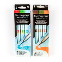 Spectrum Noir Aquatints x 6 - Summer Time and Falling Leaves-056694