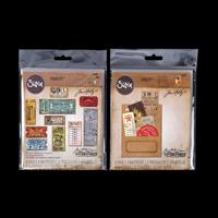 Sizzix® Thinlits™ Set of 8 Dies - Stitched Slots & Ticket Booth-057641