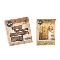Sizzix® Bigz™ Plank Die & Texture Fades™ 3D Embossing Folder - Lu-061429