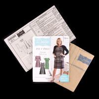 Debbie Shore Pattern Pack - 4in1 Dress - Sml sizes-063058