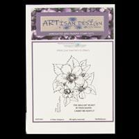 Artisan Design Freeline Fantasy Florals A6 Stamp Sheet - Nettlebl-064886