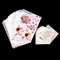 Reddy Cards - 1 x Pack of 3D Floral Die - Cuts XXL - 24 Die Cuts -065255