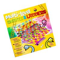 The Happy Puzzle Company - Multi-level Snakes and Ladders-066075