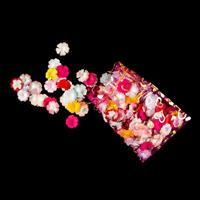 Add Some Sparkle Bag of Blossoms Paper Flower Embellishment Pack -066366