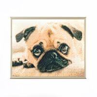 Pixelhobby UK Pug Kit - 4 Baseplates, 90 Pixelsquare Sheets & 6 J-066949
