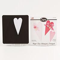 Sizzix® Bigz™ Die - Hearts, Primitive-067319