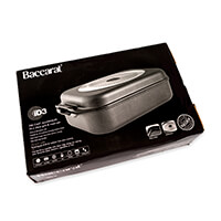 Baccarat Hard Anodised Roast and Grill Pan - 34x24cm-067441