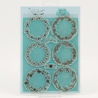 Mama Makes Floral Frames A5 Stamp Set - 8 Stamps-069317