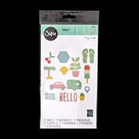Sizzix® Thinlits™ Set of 17 Dies - Summer Time by My Life Handmad-071584